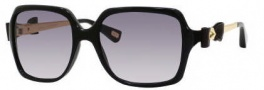 Marc Jacobs 272/S Sunglasses Sunglasses - 0807 Black (LF Gray Gradient Lens)
