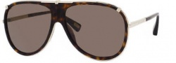 Marc Jacobs 306/S Sunglasses Sunglasses - 03YG Light Gold (NR Brown Gray Lens)