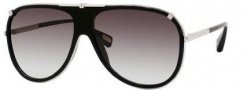 Marc Jacobs 306/S Sunglasses Sunglasses - 0010 Palladium (5M Gray Gradient Aqua Lens)