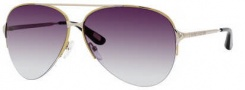 Marc Jacobs 308/S Sunglasses Sunglasses - 0l4Z Gold Light Gold (5M Gray Gradient Aqua Lens)