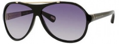 Marc Jacobs 316/S Sunglasses Sunglasses - 0D28 Shiny Black (JJ Gray Gradient Lens)