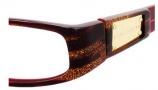 Marc Jacobs 116/U Eyeglasses Eyeglasses - 0COS Burgundy Glitter