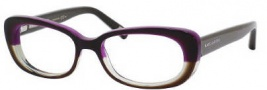 Marc Jacobs 354 Eyeglasses Eyeglasses - 0UF0 Brown / Violet Green