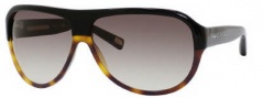 Marc Jacobs 343/S Sunglasses Sunglasses - 0UVP Black Dark Tortoise (JS Gray Gradient Lens)