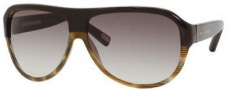 Marc Jacobs 343/S Sunglasses Sunglasses - 0UVH Brown Green Horn (JS Gray Gradient Lens)