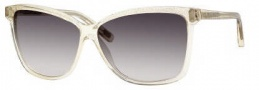 Marc Jacobs 345/S Sunglasses Sunglasses - 0440 Champagne Glitter (LF Gray Gradient Lens)