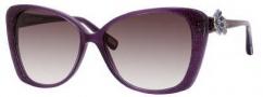 Marc Jacobs 347/S Sunglasses Sunglasses - 0YHP Violet / Glitter Violet (J8 Mauve Gradient Lens)