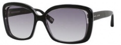 Marc Jacobs 349/S Sunglasses Sunglasses - 0UT0 Black Gray (JJ Gray Gradient Lens)