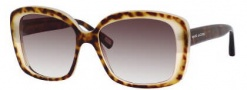Marc Jacobs 349/S Sunglasses Sunglasses - 0UVF Havana Honey / Dark Havana (JS Gray Gradient Lens)