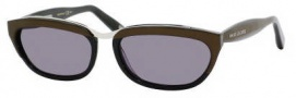 Marc Jacobs 356/S Sunglasses Sunglasses - 0OXT Brown (BN Dark Gray Lens)