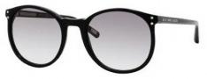 Marc Jacobs 357/S Sunglasses Sunglasses - 0807 Black (LF Gray Gradient Lens)
