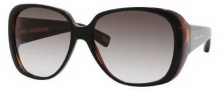 Marc Jacobs 362/S Sunglasses Sunglasses - 0BG4 Black Dark Tortoise (JS Gray Gradient Lens)