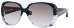 Marc Jacobs 362/S Sunglasses Sunglasses - 0G74 Blue Sport Marble (LF Gray Gradient Lens)
