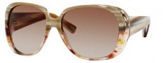 Marc Jacobs 362/S Sunglasses Sunglasses - 0E8L Yellow Spotted Marble (6Y Brown Gradient Lens)