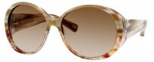 Marc Jacobs 363/S Sunglasses Sunglasses - 0E8L Yellow Spotted Marble (6Y Brown Gradient Lens)