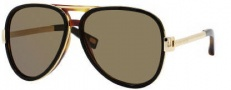 Marc Jacobs 364/S Sunglasses Sunglasses - 006O Black Havana (70 Brown Lens)