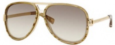 Marc Jacobs 364/S Sunglasses Sunglasses - 006S Sand Striated (8X Gray Gradient Mirror Lens)