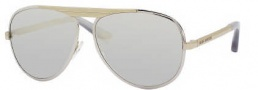 Marc Jacobs 365/S Sunglasses Sunglasses - 0TNG Palladium Gold (M3 Gray Silver Mirror Lens)