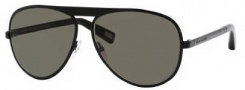 Marc Jacobs 365/S Sunglasses Sunglasses - 0006 Shiny Black (NR Brown Gray Lens)