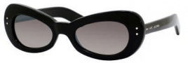 Marc Jacobs 366/S Sunglasses Sunglasses - 0807 Black (NQ Brown Mirror Gradient Lens)