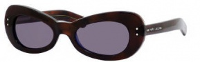 Marc Jacobs 366/S Sunglasses Sunglasses - 0D9S Havana Blue (Y1 Gray Lens)