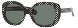 Marc Jacobs 367/S Sunglasses Sunglasses - 0MU3 Brown Pois (QT Green Lens)