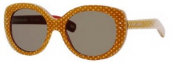 Marc Jacobs 367/S Sunglasses Sunglasses - 0MU2 Caramel Pois (70 Brown Lens)