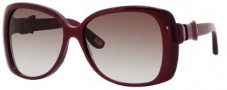 Marc Jacobs 385/S Sunglasses Sunglasses - 0YBH Burgundy Pearl (JS Gray Gradient Lens)