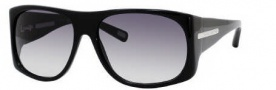Marc Jacobs 386/S Sunglasses Sunglasses - 0807 Black (JJ Gray Gradient Lens)