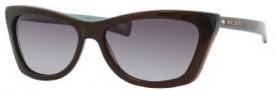 Marc Jacobs 389/S Sunglasses Sunglasses - 0XGL Brown Gold (PT Gray Gradient Lens)