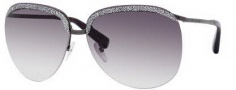 Marc Jacobs 391/S Sunglasses Sunglasses - 0R80 Semi Matte Dark Ruthenium (JS Gray Gradient Lens)