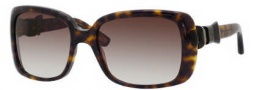 Marc Jacobs 396/S Sunglasses Sunglasses - 0086 Dark Havana (JS Gray Gradient Lens)