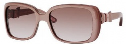 Marc Jacobs 396/S Sunglasses Sunglasses - 0Y9A Nude Pearl (S2 Brown Gradient Lens)