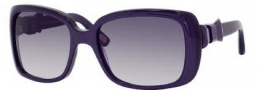Marc Jacobs 396/S Sunglasses Sunglasses - 0YOR Purple PLD (9C Dark Gray Gradient Lens)