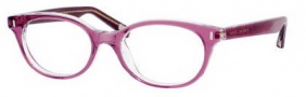 Marc Jacobs 375 Eyeglasses Eyeglasses - 0OL7 Plum Crystal Gold
