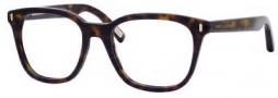 Marc Jacobs 376 Eyeglasses Eyeglasses - 0086 Dark Havana