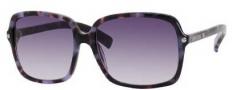 Jimmy Choo Eddie/S Sunglasses Sunglasses - 0YH0 Havana Mauve (DG Smoke Gradient Lens)