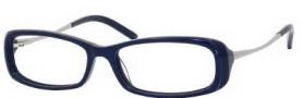 Jimmy Choo 35 Eyeglasses Eyeglasses - 0YlE Blue Snake / Ruthenium