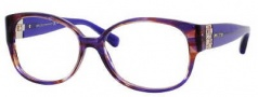Jimmy Choo 42 Eyeglasses Eyeglasses - 0ECW Violet Fleck