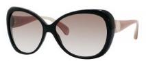 Jimmy Choo Julie/S Sunglasses Sunglasses - 0WUP Black (S8 Brown Gradient Lens)