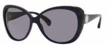 Jimmy Choo Julie/S Sunglasses Sunglasses - 0WUQ Black Croc Silver (BN Dark Gray Lens)