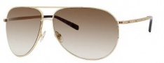 Jimmy Choo Loh/S Strass Sunglasses Sunglasses - 0J5G Gold (02 Brown Gradient Lens)