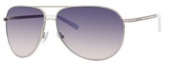 Jimmy Choo Loh/S Strass Sunglasses Sunglasses - 0010 Palladium (l4 Blue Gradient Pea Lens)
