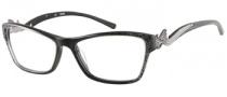 Guess GU 2246 Eyeglasses Eyeglasses - BLK: Black Sparkle