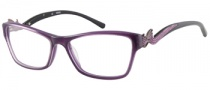 Guess GU 2246 Eyeglasses Eyeglasses - PUR: Purple Glitter