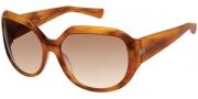 Modo Camilla Sunglasses Sunglasses - Cognac / Gradient Lens