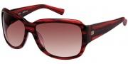 Modo Giada Sunglasses Sunglasses - Chianti / Gradient Lens