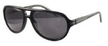 Givenchy SGV775 Sunglasses Sunglasses - 700P Shiny Black / Polarized Smoke Lens