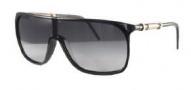 Givenchy SGV772 Sunglasses Sunglasses - Z42X Shiny Black with Swarovski Crystals / Smoke Gradient Lens