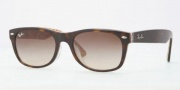 Ray-Ban RB2168F Sunglasses  Sunglasses - 101671 Top Black On Texture Red Green